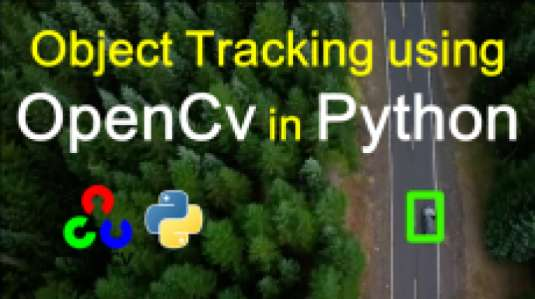 Faster and accurate object tracking in Python