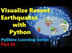 How to visualize Earthquakes in Python