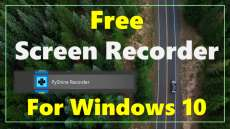 Free Audio Video Screen Recorder for Windows 10