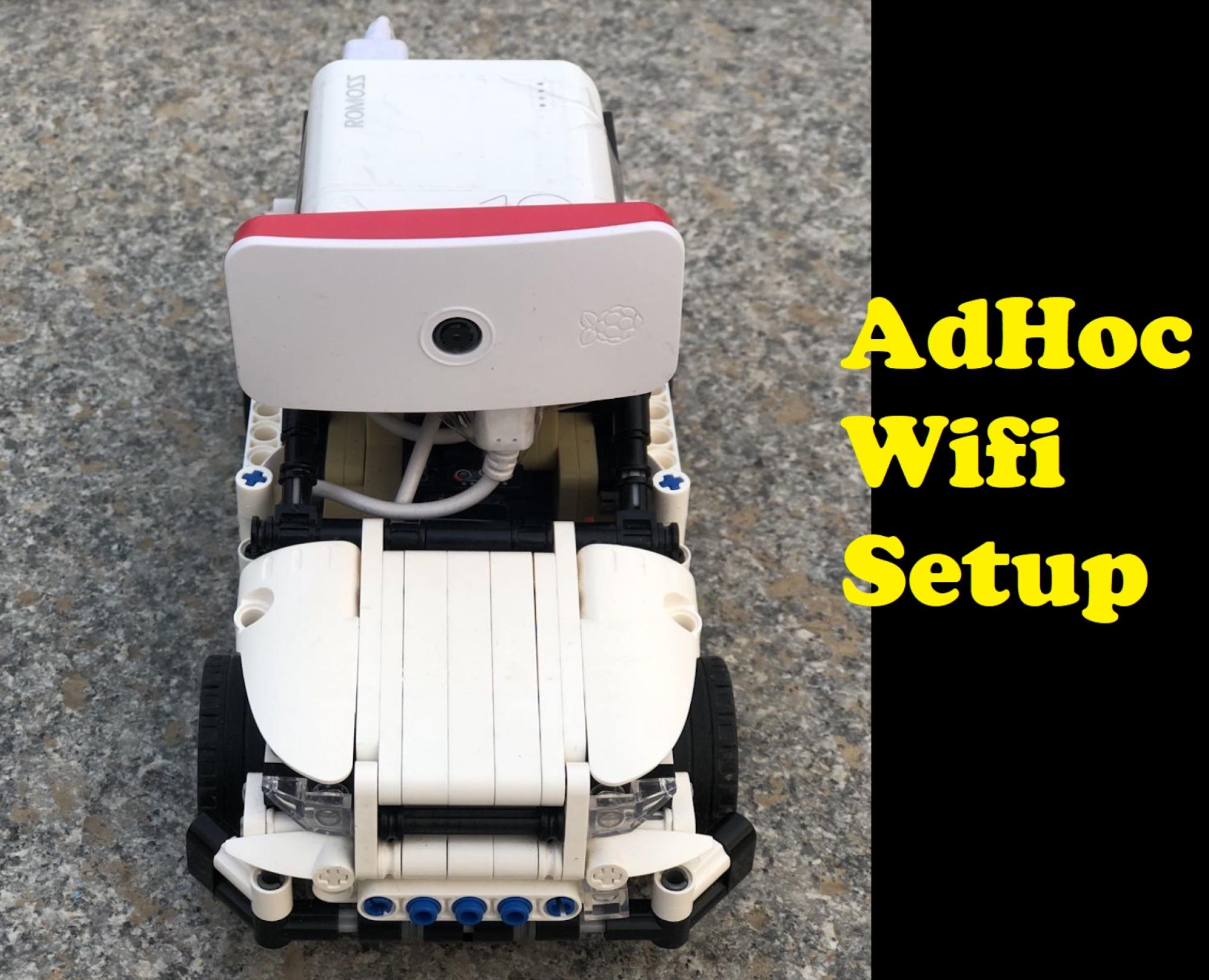 How to configure Raspberry Pi in Ad hoc wifi mode