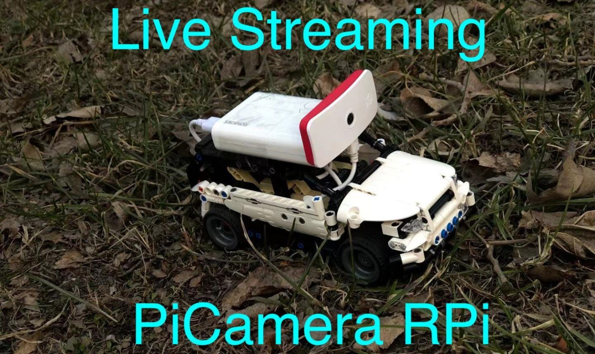 How to easily stream picamera video over wifi with Raspberry Pi