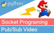 How to publish-subscribe video using socket programming in Python