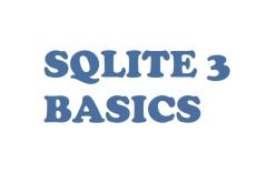 Basics about SQL database in Python